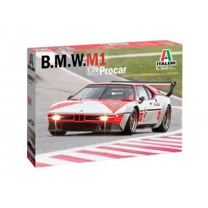 Kit de construit auto BMW M1 Procar 1:24