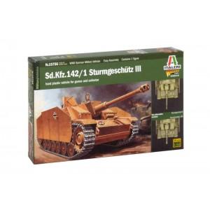Kit tanc de asamblat Sd.Kfz.142/1 STURMGESCHÜTZ III