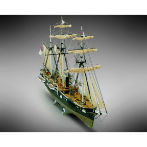 Kit corabie din lemn CSS Alabama 1:120