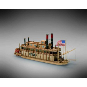 Kit corabie din lemn Mississippi 1:206