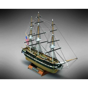 Kit corabie din lemn U.S.S. Constitution 1:330