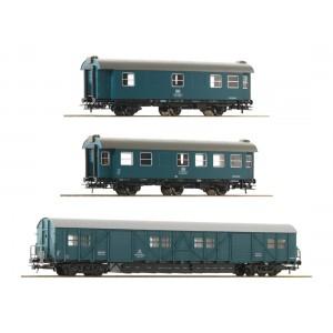 Set 3 vagoane intretinere ,DB, Epoca IV