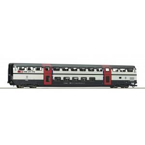 Vagon de calatori cu etaj,cls.1, SBB, Epoca VI 74503