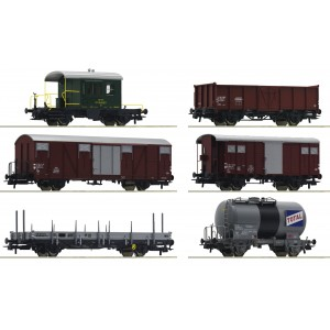 "Set vagoane marfa ""Gotthardbahn"",SBB, Epoca IV"