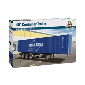 Kit de construit semiremorca container 40 '