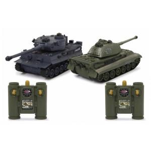Set 2 tancuri Tiger / 1:28 / 2,4 GHz