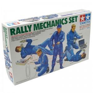 Kit de construit figurine mecanici auto 5 buc ,1:24