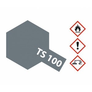 Vopsea Spray Tamiya TS-100 Gri deschis semilucios 100ml