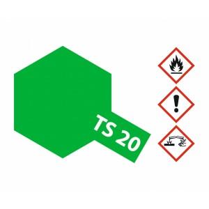 Vopsea Spray Tamiya TS-20 Verde metalizat lucios 100ml