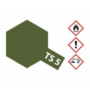 Vopsea Spray Tamiya TS-5 Verde masliniu mat 100ml