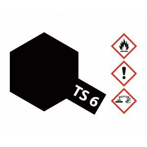 Vopsea Spray Tamiya TS-6 Negru mat 100ml