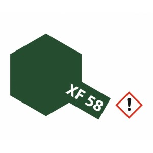 Vopsea Tamiya XF-58 Verde Masliniu mat 23ml