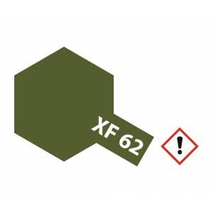 Vopsea Tamiya XF-62 Verde Inchis mat 23ml