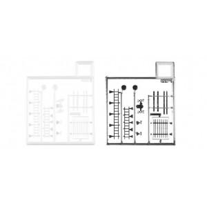 Scari/Goarne/Raft cabina pentru camioanele Herpa 4 buc